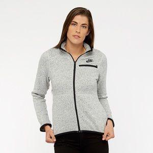 NIKE Purple Full Zip Fleece Summit Jacket